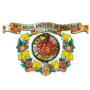 48th highlanders of holland, loenen