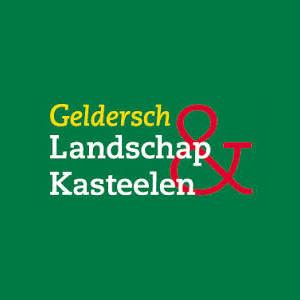 Geledersch landschap en kasteelen, logo