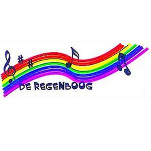de regenboog, zangevereniging, logo, loenen