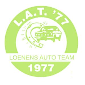 lat 77, loenens auto team 1977, logo