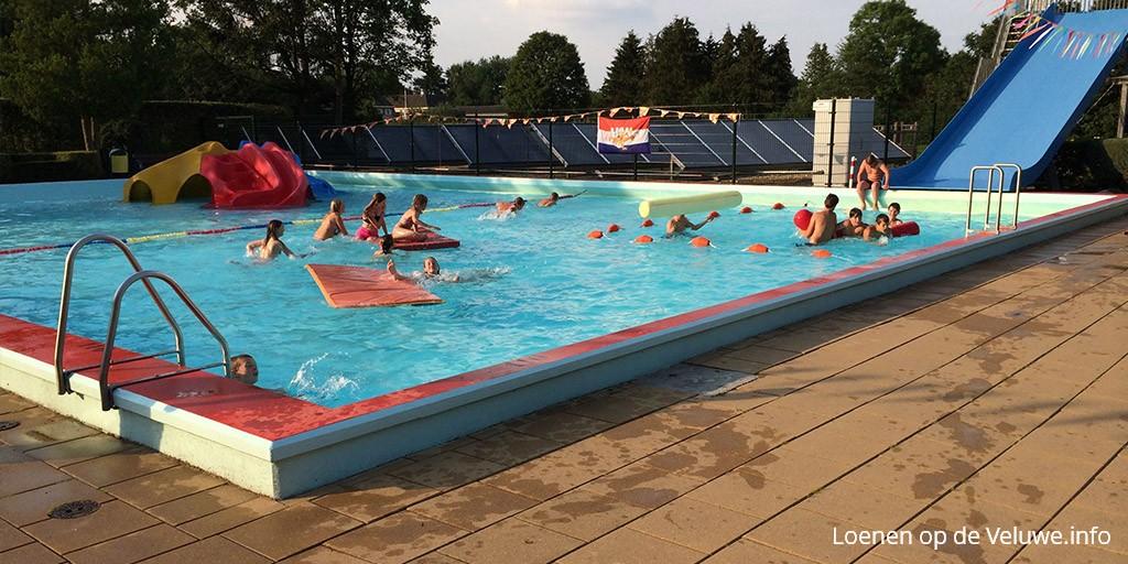 Het zwembad van Loenen
