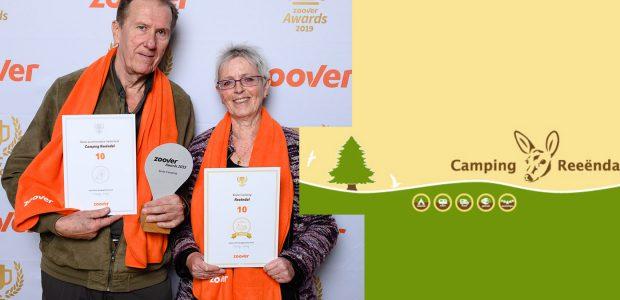 Camping Reeëndal wint Gouden en Platinum Zoover Award